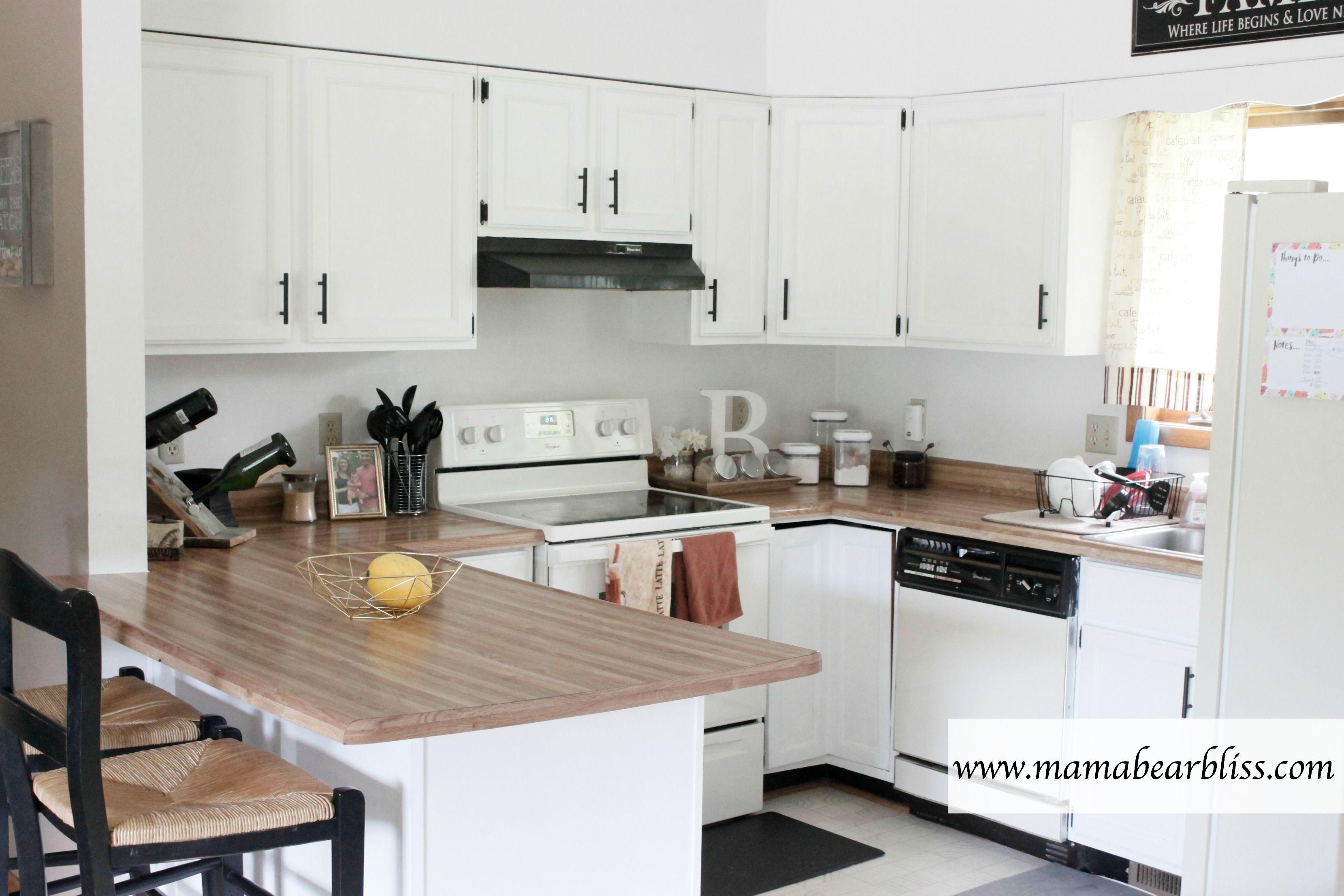 How to Paint Kitchen Cabinets For Under $200 Mama