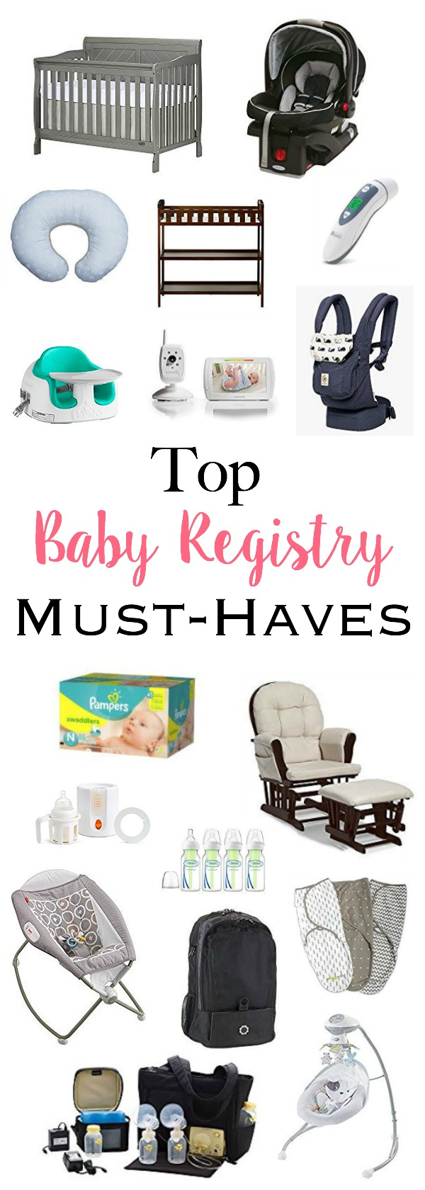 Top Baby Registry Must-Haves - Best products and essentials every mom needs on her registry | www.mamabearbliss.com